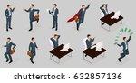 isometric people  3d...   Shutterstock .eps vector #632857136