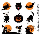 Set Of Vector Images. Two Colo...