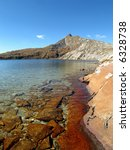 mountain lake with clear water | Shutterstock . vector #6328738