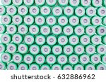 top view of test tube background | Shutterstock . vector #632886962