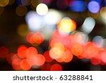 christmas light background in... | Shutterstock . vector #63288841