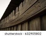 Warped And Weathered Wooden...