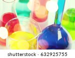 tube in laboratory. | Shutterstock . vector #632925755
