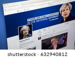 london  uk   may 3rd 2017  the... | Shutterstock . vector #632940812