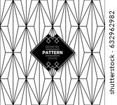 abstract pattern in arabian... | Shutterstock .eps vector #632962982