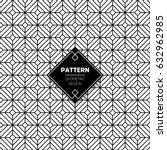 abstract pattern in arabian...   Shutterstock .eps vector #632962985