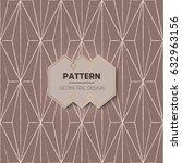 abstract pattern in arabian... | Shutterstock .eps vector #632963156