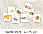 healthy and fresh fruits  ...   Shutterstock . vector #63297901