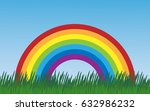 vector isolated summer flat...   Shutterstock .eps vector #632986232