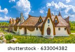 fairytale clay castle of... | Shutterstock . vector #633004382