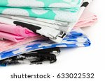 stack or heap of 100  cotton... | Shutterstock . vector #633022532