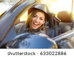 shot of a young cute woman... | Shutterstock . vector #633022886