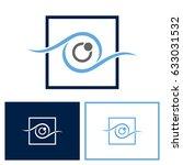 eye frame logo | Shutterstock .eps vector #633031532