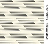 seamless horizontal stripe... | Shutterstock .eps vector #633038078