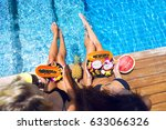 Summer Pool Party Portrait Of...