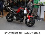 Small photo of BUCHAREST SMAEB ROMEXPO April 21-23 2017.Motorcycle Brand BMW Model F 800 R . The modern all-rounder