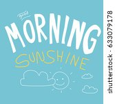 Good Morning Sunshine Vector...