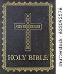 Holy Catholic Bible Isolated O...