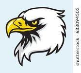 eagle head mascot vector | Shutterstock .eps vector #633094502