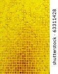 golden mosaic texture   Shutterstock . vector #63311428