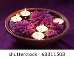 Aroma Bowl With Candles And...