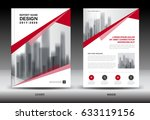 business brochure flyer... | Shutterstock . vector #633119156