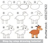 kid game to develop drawing... | Shutterstock .eps vector #633127622