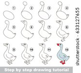 kid game to develop drawing... | Shutterstock .eps vector #633127655