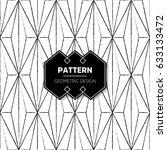 abstract pattern in arabian... | Shutterstock .eps vector #633133472
