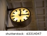 detail of a clock | Shutterstock . vector #63314047