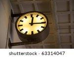 detail of a clock | Shutterstock . vector #63314047