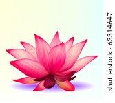 Vector Photo Realistic Lotus...