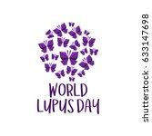 world lupus day | Shutterstock .eps vector #633147698