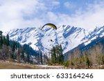 Paragliding At Solang Valley...