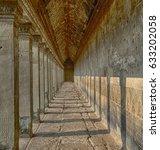landmarks along streets of... | Shutterstock . vector #633202058