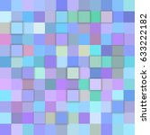 Pastel Color Abstract 3d Cube...