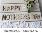 happy mother's day  mom's day ... | Shutterstock . vector #633226676