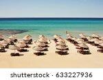 a beach in cesme alacati  izmir ...   Shutterstock . vector #633227936