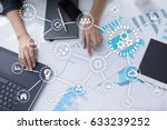 iot. internet of things.... | Shutterstock . vector #633239252