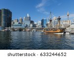 darling harbour  sydney ... | Shutterstock . vector #633244652