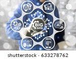 big data service industries 4... | Shutterstock . vector #633278762