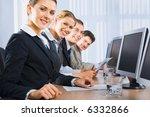 portrait of confident people... | Shutterstock . vector #6332866