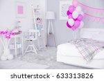 interior of beautiful room... | Shutterstock . vector #633313826