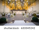 wedding ceremony hall ready for ... | Shutterstock . vector #633345242