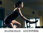 Girl In Health Club. Attractiv...