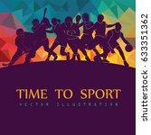 color sport background....   Shutterstock .eps vector #633351362