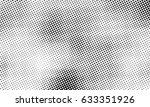 Black And White Halftone Pixel...