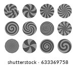 set of lollipops  different...   Shutterstock .eps vector #633369758