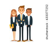 business company partners | Shutterstock .eps vector #633377252