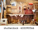 background image of woodworking ... | Shutterstock . vector #633390566